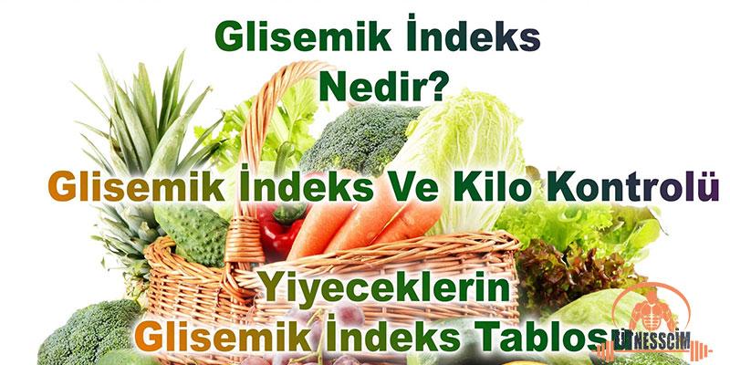 glisemik indeks nedir besinler yüksek düşük